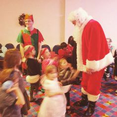 Christmas party!! #christmas #likes #littlemiracles #charity #santa