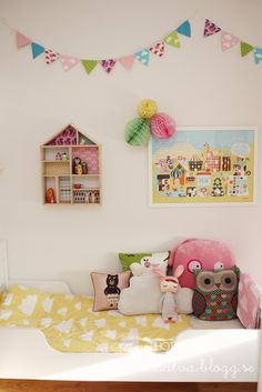 Cute and colourful kids room