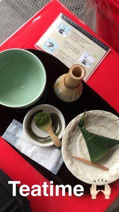 Time for tea, Kyoto. #japan