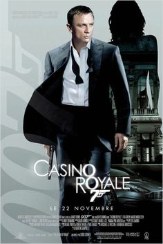 Casino Royale : affiche Martin Campbell