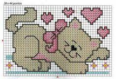 Image result for graficos de bordado ponto cruz