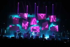 Step Into the Light: An Interview With Radiohead's Stage Designer Andi Watson - Print Magazine Concert Lights, Concert Stage, Stage Design, Set Design, Projection Mapping, Stage Show, Stage Lighting, Print Magazine