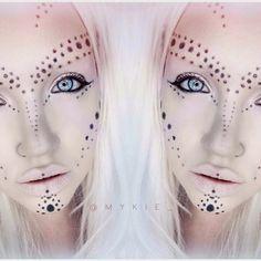 Inspiration Maquillage, Maquillage Tribal, Maquillage Cosplay, Maquillage  Effets Spéciaux, Maquillage Halloween,