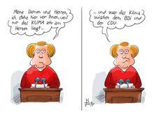 Angela Merkel liegt das Klima sehr am Herzen ...