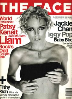 THE FACE december 1996 Patsy Kensit by Mario Testino styled by Carine Roitfeld