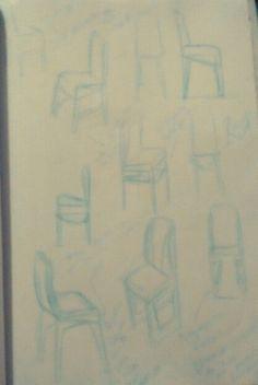 Sketchs cadeiras + acessório