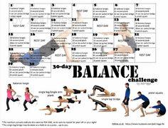 30-day Balance Challenge