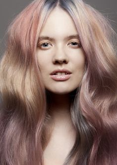 Marriet Gakes: Coiffure Award 2012 - Colour Technician Winner #pastel