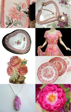 Feeling in the Pink  by Dee NewEnglandReflections on Etsy--Pinned with TreasuryPin.com
