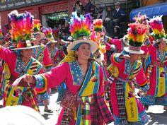 Tinku dancers, Bolivia