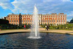 Hampton Court Palace - via twopassportsonepen.com