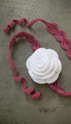 crochet headband for little girls