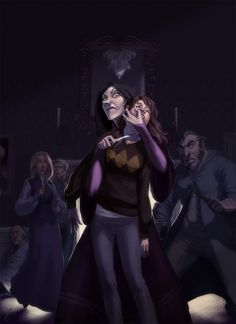 This a FANTASTIC drawing of Chapter 23 when Bella has Hermione. Simply amazing.