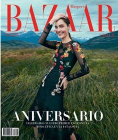 Harper's Bazaar Chile May 2016 cover - Dolce&Gabbana Spring 2016