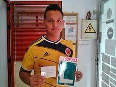 Seguimos con buena racha. ¡Enhorabuena Luis Fernando! TODO a la primera; así da gusto trabajar.