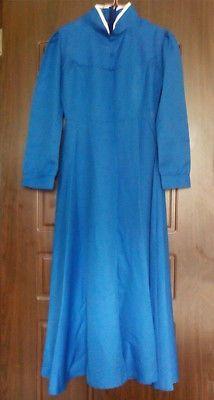 Studio-Ghibli-Howls-Moving-Castle-Sophie-Blue-Dress-Cosplay-Costume-Size-US-M