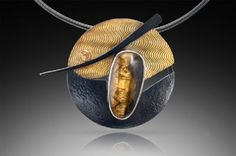 Surface Effects on Mixed Metals - Sharrey Doré http://bestjewelry101.blogspot.com/2012/11/surface-effects-on-mixed-metals-sharrey.html