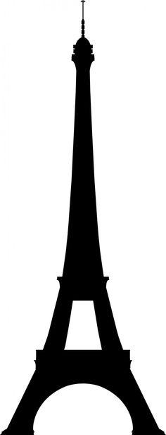 Eiffeltoren Silhouette Gratis Stock Foto HD - Public Domain Pictures