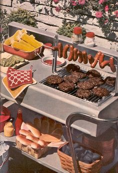 OMG perfect way to grill hot dogs or brats Dreaming of 4th of July BBQ...