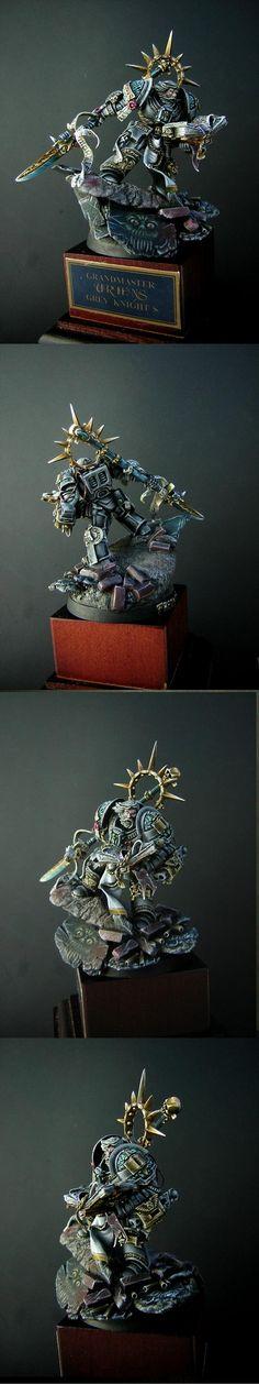 Grey Knights, Scenic, Terminator Armor, Warhammer 40,000