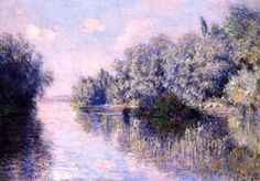 The Seine near Giverny Claude Monet - 1885