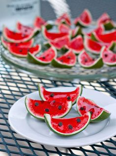 These Watermelon Jell-O Shots are Exactly What Your Memorial Day BBQ Needs