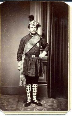Civil War Soldier CDV Eagle Belt Plate Rob Roy ID'D