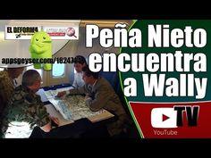 Noticia de último momento: Enrique Peña Nieto encuentra a Wally
