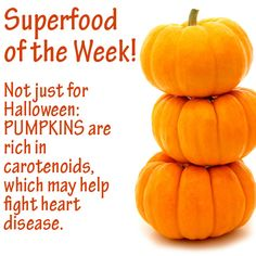 Superfood of the Week: Pumpkin