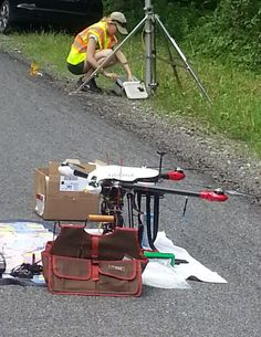 Drones used for global warming research