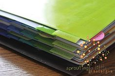 sprouting a little nostalgia: Household Notebook with printables