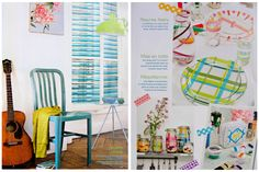 marie claire idees magazine spread on japanese washi tape
