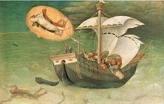 Gentile da Fabriano - Políptico Quarattesi (1425), detalle