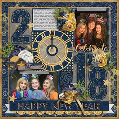 Credits: Pop the cork - bundle with FWP by WendyP Design Cindy's Layered Templates - Get Festive: New Year's by Cindy Schneider 12x12 Layout Sweetshoppe Designs Layout by Kjersti Sudweeks