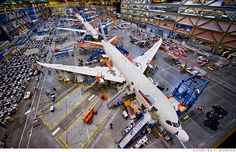 Boeing 787 factory