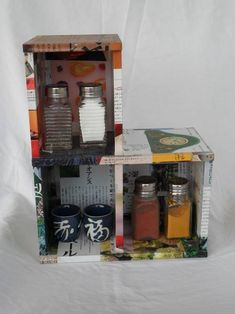 mini-cabinet made from cd cases - HOME SWEET HOME