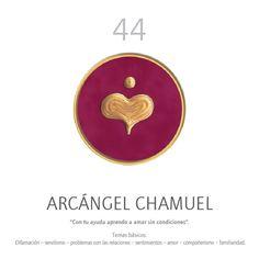Oráculo Angelario: ARCÁNGEL CHAMUEL