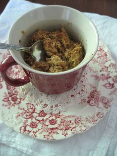 SUNDAY BAKER: Baked Pumpkin Honey Oatmeal