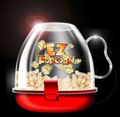 EZ - Popcorn Maker  #popcornmaker @popcorn #zelfpopcornmaken #bekendvantv Gadgets, Popcorn Maker, Snow Globes, Kitchen Appliances, Mugs, Tableware, Home Decor, Tv, Diy Kitchen Appliances