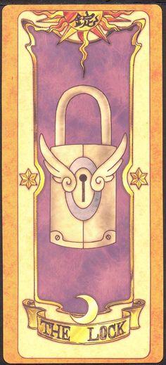 The Lock (Cadeado) - Esta carta é uma carta especial, ou seja, não pode ser capturada por outras Cartas Clow. Para fazer isso, Sakura teve que usar sua chave mágica.