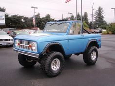 1975 Ford Bronco... our real truck...