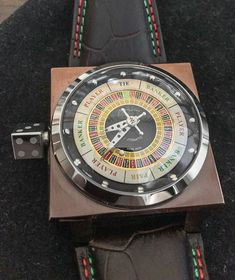"WATCH WINNER REVIEW: Azimuth SP-1 King Casino - Our February winner reviews this casino-inspired piece at: aBlogtoWatch.co ""In February 2016, the monthly giveaway watch on aBlogtoWatch was an Azimuth SP-1 King Casino. The winner was Rajvind D., and he has written a review of this quirky piece for the aBlogtoWatch audience. Thanks to Rajvind and all the other watch winners who share their experiences with the world..."""