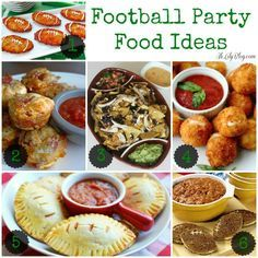 football food party (yes football season falls under holidays) lol