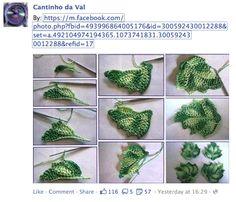 crochet ivy