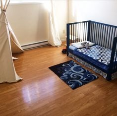 Our Montessori Life: converting a cot to a toddler bed so your child can get in and out independently