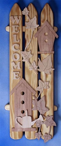 Birdhouse on A Fence Pattern $6.95 plus shipping