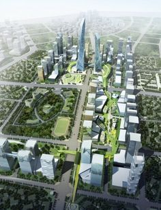Southern Island of Creativity / Chengdu Urban Design Research Center | ArchDaily