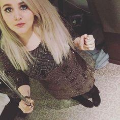 「 #selfie #pose #makingmemories #newyearseve #glitter #makingeffort #me #blackandgold #selfiestick #restingbitchface #blonde #blueeyes  」