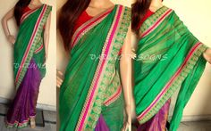 Latest Traditional Saree Collections 2014 For Asian Women (5)