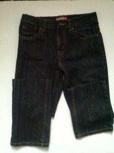 Black skinny jeans, size 12